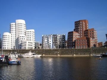 skyline van Dusseldorf